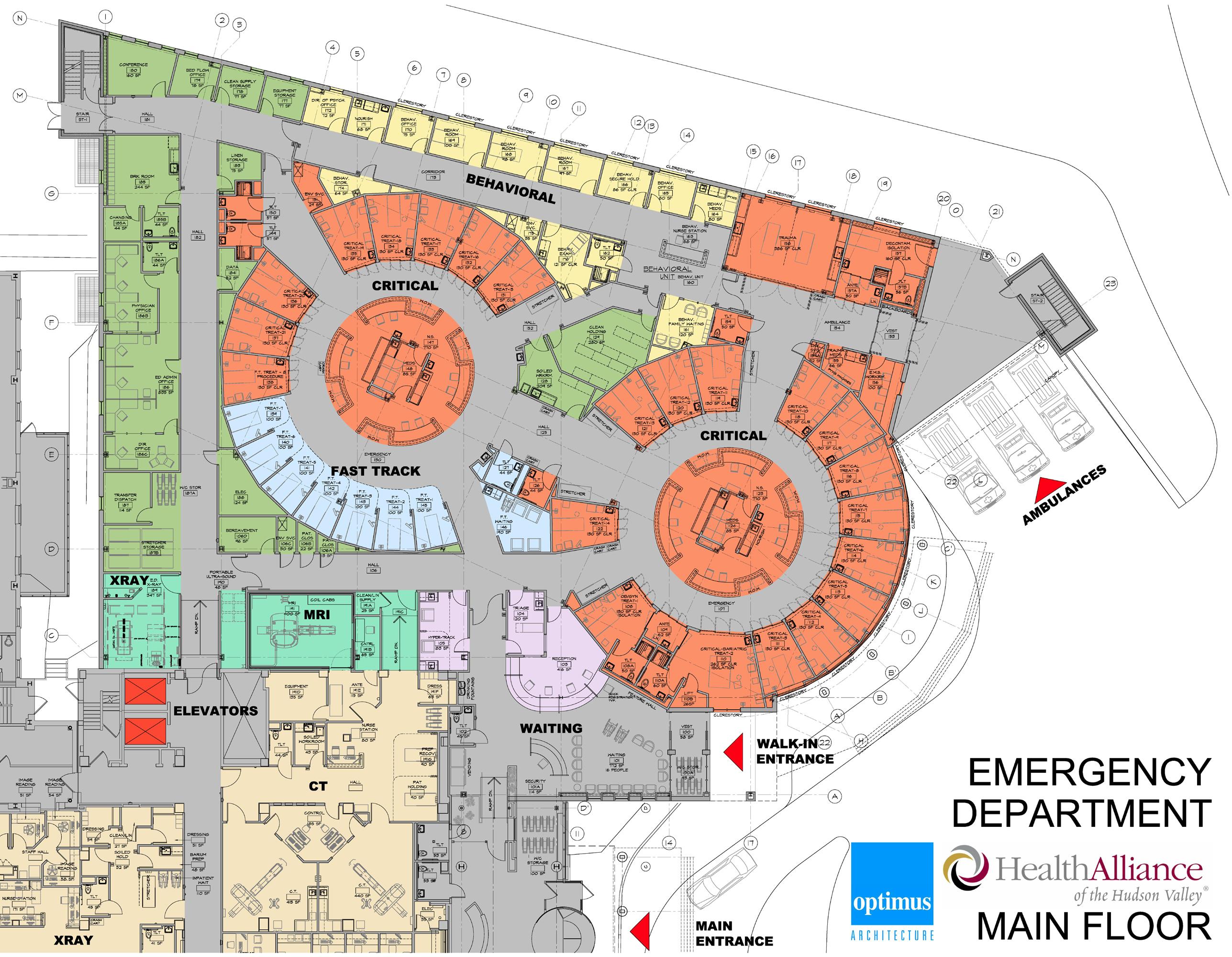 HAHV - Color Plans - Main Floor - ED Addition - Md