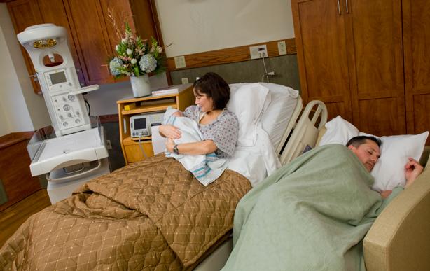 Kingston Maternity Private Room